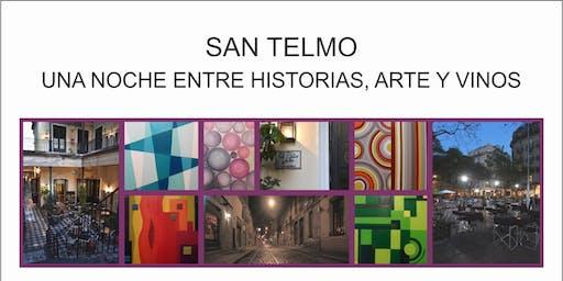 """""""Una noche mágica en San Telmo"""" entre historias, arte y vino."""