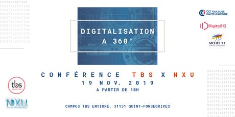 Digitalisation à 360° par TBS x NXU billets