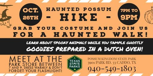 Haunted Possum Hike