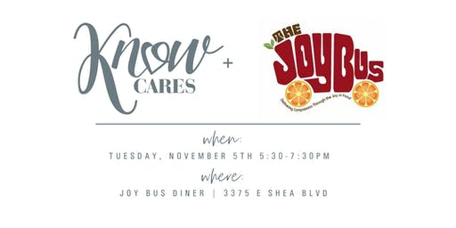 KNOW Cares + The Joy Bus
