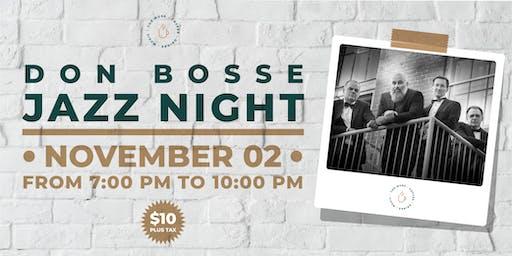 The Muse present Don Bosse Jazz Night