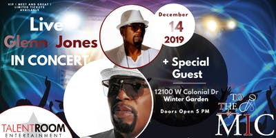 Glenn Jones Live In Concert Orlando Florida Area