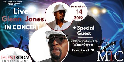 Glenn Jones Live In Concert Orlando Florida Area