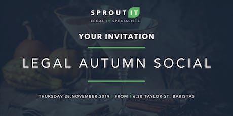 Legal Autumn Social tickets