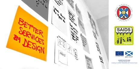 Better Services by Design – workshop tickets