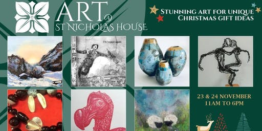 Art @ St Nicholas House - Stunning Art for Festive Gifts