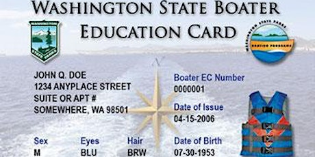 Spokane County Sheriff Boating Education Course tickets