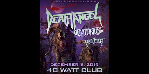 Death Angel, Exmortus, Hellfire, and NeverFall