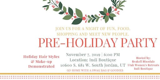 Holiday Hair & Makeup Party