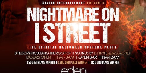 NIGHTMARE ON I ST COSTUME PARTY