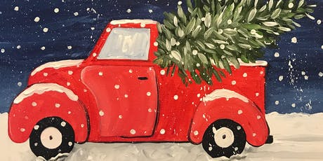 Red Truck with Christmas Tree tickets