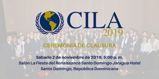 Ceremonia de Clausura CILA 2019