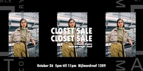 OSCAM x Closet Sale #6 tickets