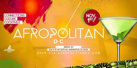 AfropolitanDC (November) - Largest Cultural Mixer For Diaspora Professionals tickets