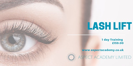 Lash Lift, One Day Training tickets