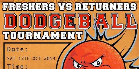 ASTON ACS FRESHERS VS RETURNERS DODGEBALL TOURNAMENT tickets