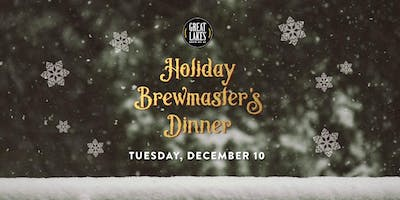 Great Lakes Brewing Company: Holiday Brewmasters Dinner