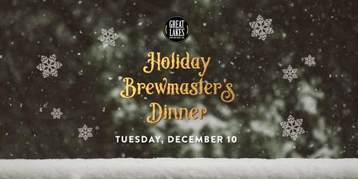 Holiday Brewmaster's Dinner