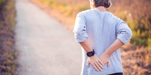 FREE Low Back Pain Workshop, Corydon