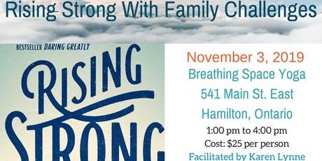 Rising Strong With Family Challenges tickets