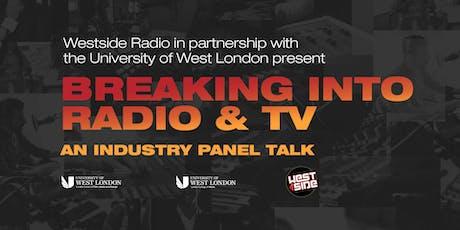 Westside Radio and UWL Panel Talk 2019 tickets