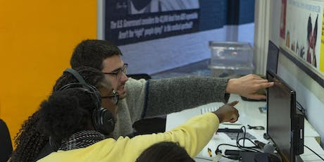 Tech Control! digital art workshops for 14-18 year olds in Tower Hamlets tickets