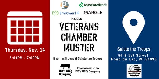 Veterans Chamber Muster- Fond du Lac