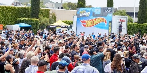 Hot Wheels Legend Tour Celebrations Comes to Santa Clarita Walmart