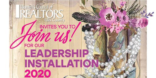 Women's Council of Realtors Ellis County Leadership Installation 2020