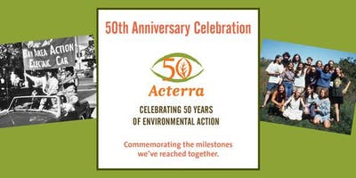Acterra's 50th Anniversary - Honoring 50 Years of Environmental Action
