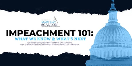 Impeachment 101: What We Know & What's next tickets