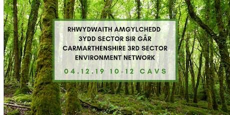 Rhwydwaith Amgylchedd 3ydd Sector \ 3rd Sector Environment Network tickets