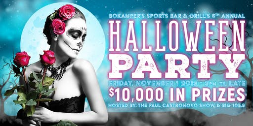 Bokamper's 6th Annual Halloween Party