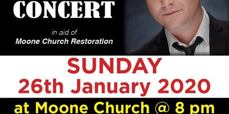 Michael English Concert for Moone Church Restoration tickets
