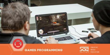 "Workshop: ""Breakout!"" - Games Programming Tickets"