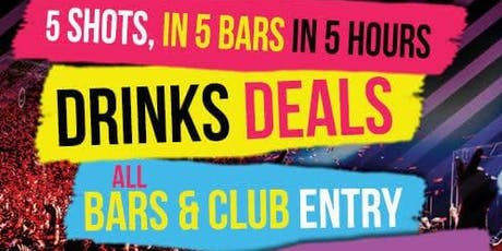 CENTRAL LONDON PARTY PUB CRAWL tickets