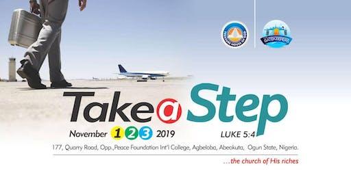 TAKE A STEP: TREASURE HOUSE OF GOD GATEKEEPERS