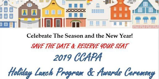 2019 CCAPA Holiday Lunch Program & Awards Ceremony