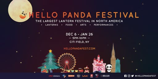 Hello Panda Festival @ CITI FIELD - The Largest Lantern Festival In North America