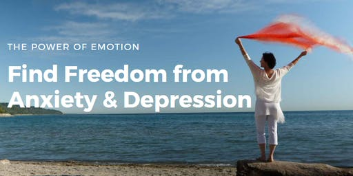 Find Freedom from Anxiety & Depression