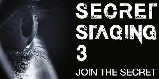 Secret Staging 3 - Old Torry Community Centre - 15th November