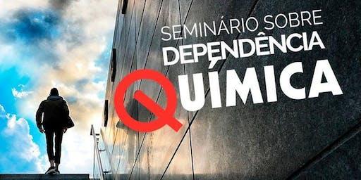 Seminário sobre Dependência Química em Recife (PE)