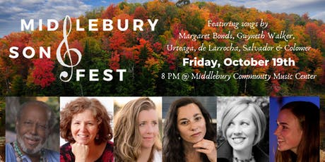 Middlebury Song Fest - An Intimate Salon Performance tickets