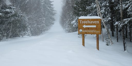 Treehaven- Spring Forward Luminary Snowshoe Hike