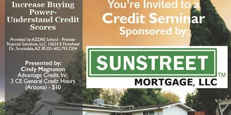 Credit Seminar - Sunstreet 12.2.19 tickets