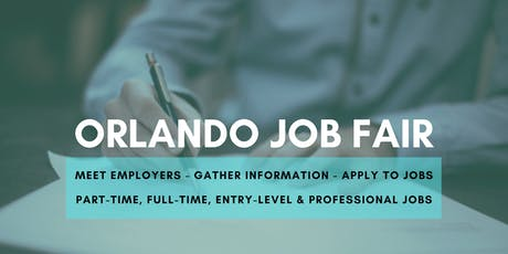 Orlando Job Fair - November 12, 2019 Job Fairs & Hiring Events in Orlando FL tickets