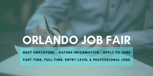 Orlando Job Fair - November 12, 2019 Job Fairs & Hiring Events in Orlando FL