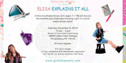 Elisa Explains It All