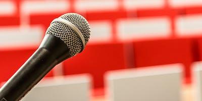 Conférence : l'art oratoire
