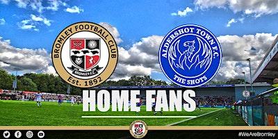 Bromley+vs+Aldershot+Town+%28HOME+FANS%29